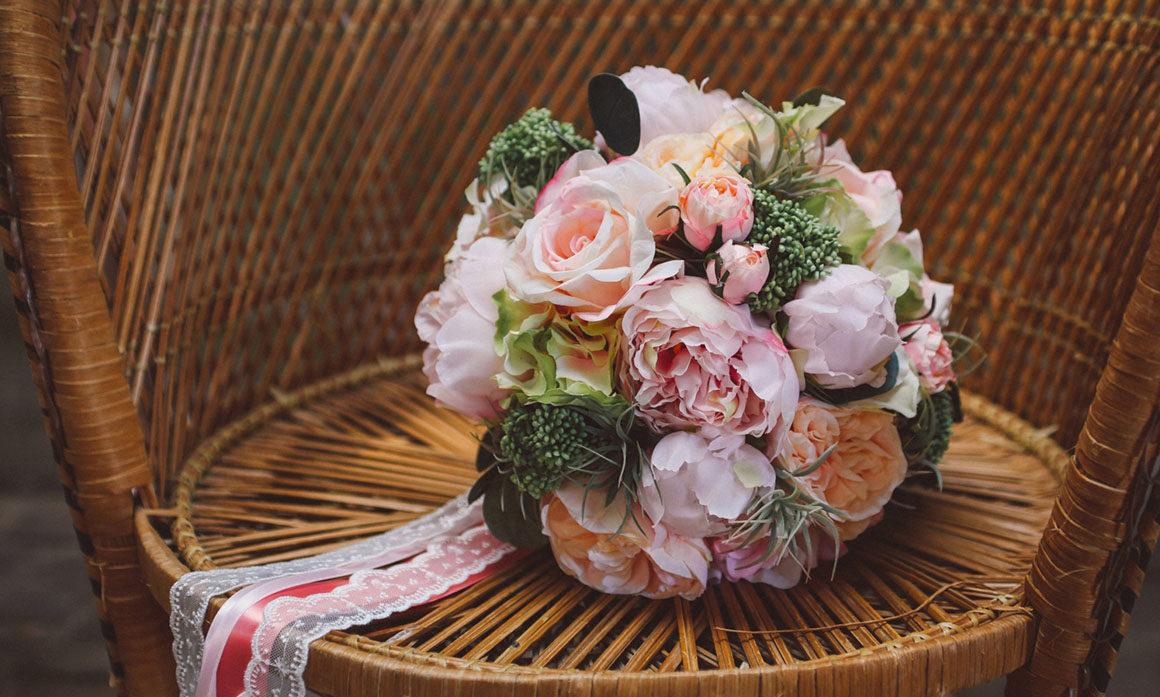 fleur artificielle haut de gamme création bouquet romantique creation fait-main