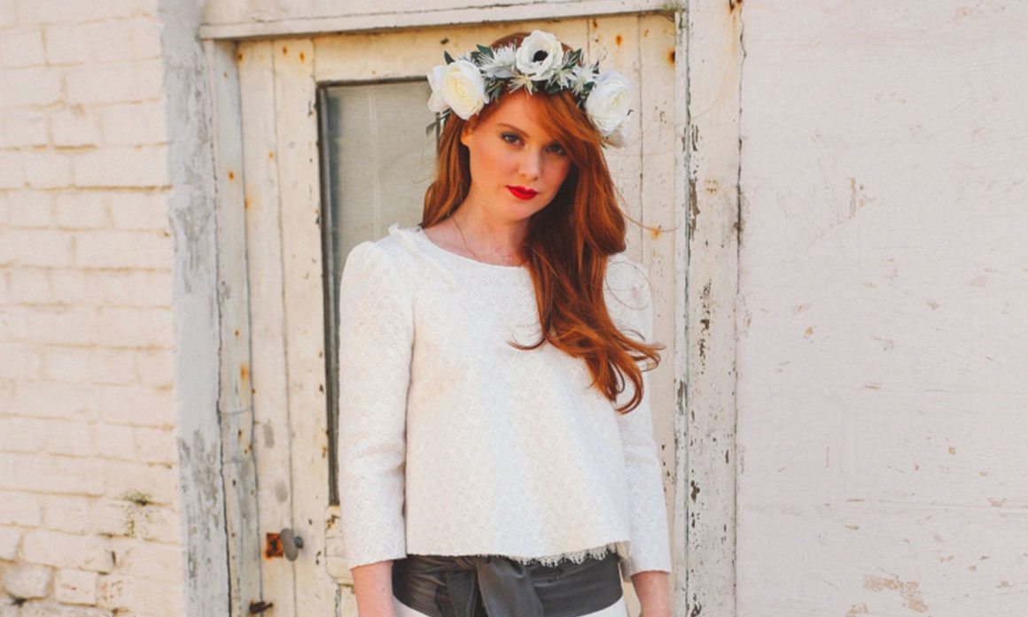 accessoire délicat mariage fleur blanche thème nature simplicité