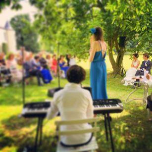 Groupe musique live mariage nord France Lille Belgique ambiance vin d'honneur cérémonie