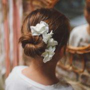 barrette petites filles coiffure enfant cérémonie