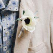 bracelet demoiselle d'honneur mariage blanc chic Orlane Herbin délicat