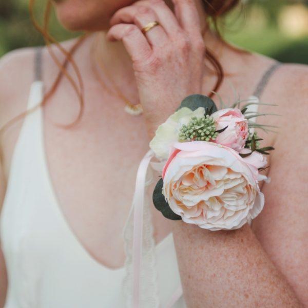 rose ancienne dentelle mariage vintage nude cadeau témoin