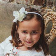 accessoire mariage enfant fleur blanche princesse orchidée