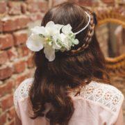headband cérémonie petite fille blanc orchidée coiffure princesse fée