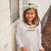 accessoire cheveux enfant d'honneur cérémonie fleurs blanches communion