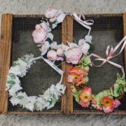 Coiffure fillette mariage fleur blanche sobre hortensia chic fête