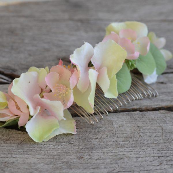Peigne De Fleurs Mademoiselle Emilie