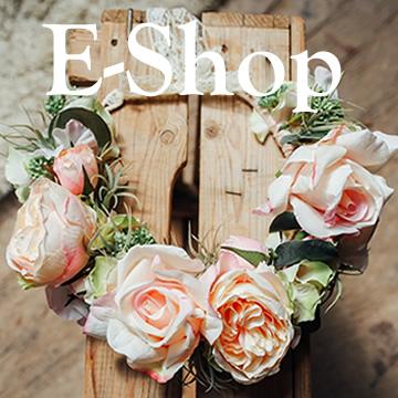 couronne fleurs artificielles boutique e-shop vente en ligne accessoire mariage créateur collection colette bloom
