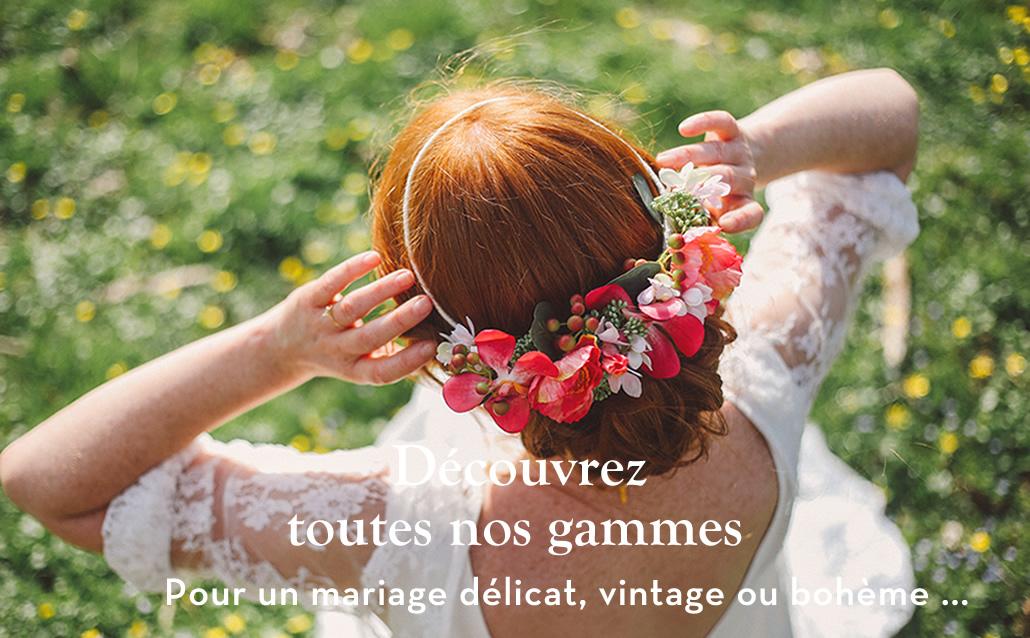 couronne de fleurs mariage colette bloom