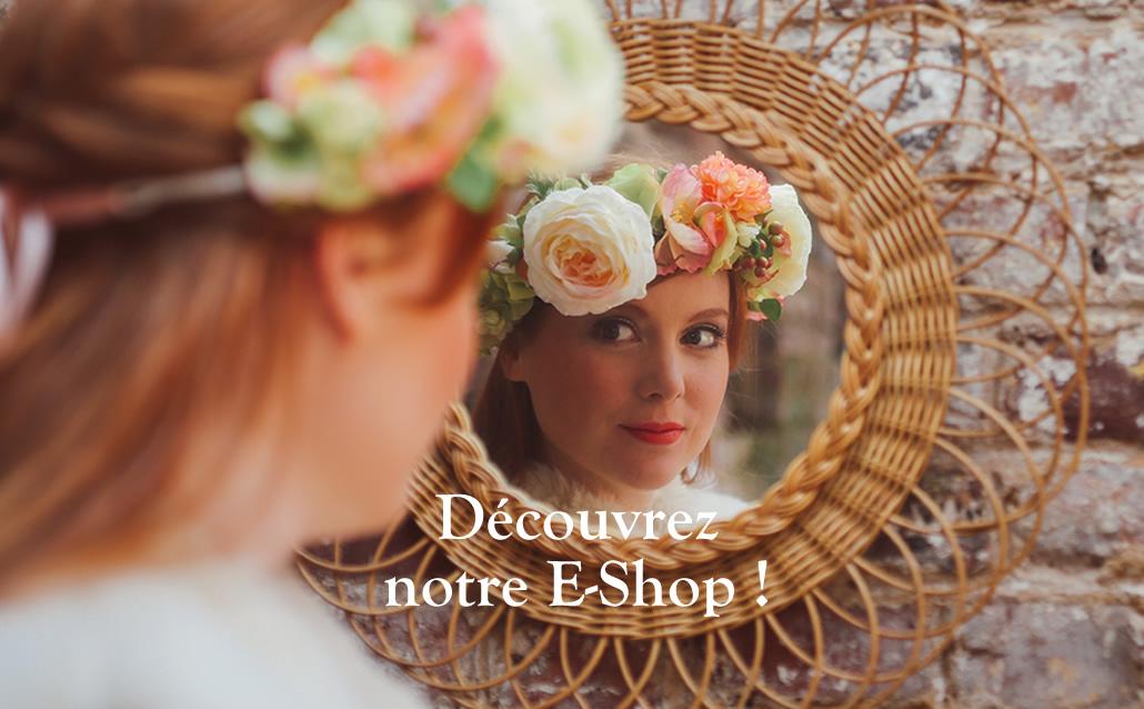 couronne mariage fleurs bohème champetre coiffure